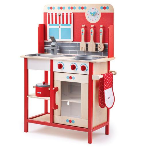 Wooden Role Play Kitchen