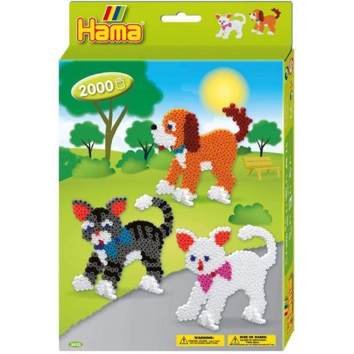 Hama Beads Dogs & Cats Set