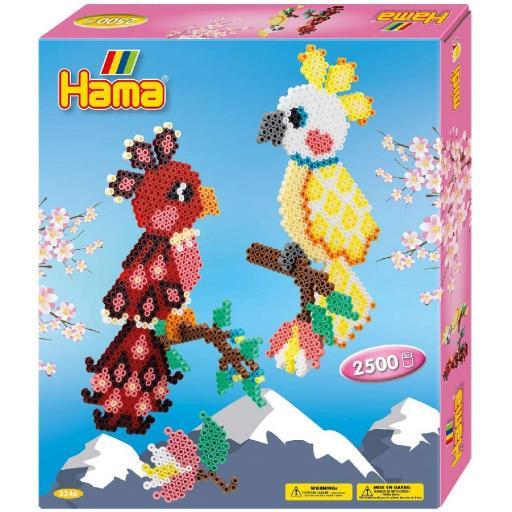 Hama Parrots Gift Box Activity Kit