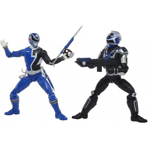 Hasbro Power Rangers Lightning Collection S.P.D. Squad B Blue Ranger Versus Squad A Blue Ranger 2-Pack Action Figures