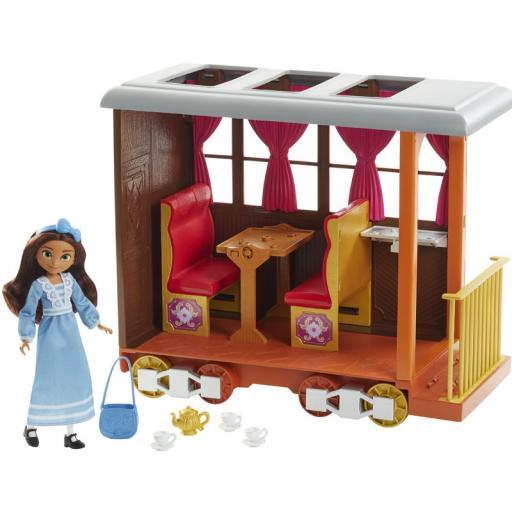 Dreamworks Spirit Untamed Lucky's Train Home Playset