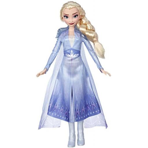 Disney Frozen Elsa Fashion Doll With Long Blonde Hair and Blue Outfit