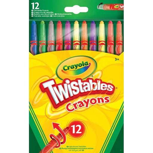 Crayola Twistables Crayons (Pack of 12)
