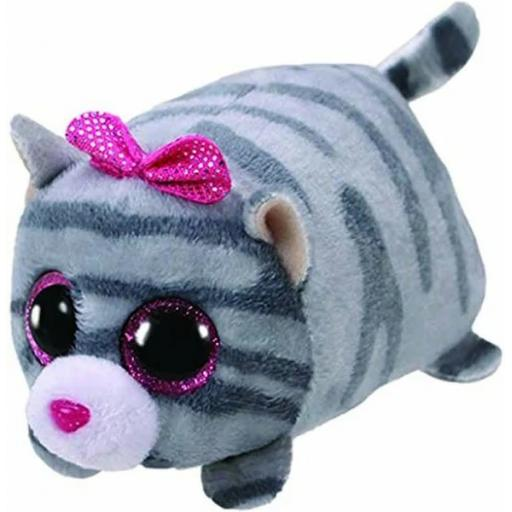 Ty Teeny Cassie Grey Cat