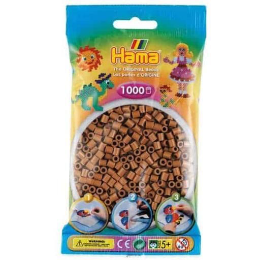 Hama 1,000 Nougat Midi Beads in a Bag