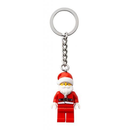 Lego Minifigure Santa Christmas Key Chain Keyring