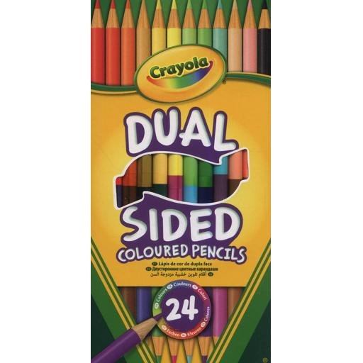 Crayola Dual Sided Pencils (12 Pack)