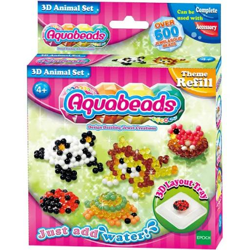 Aquabeads - 3D Animal Set