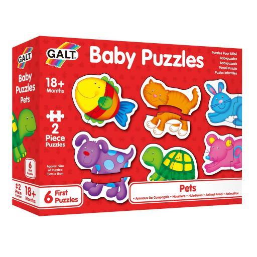 Galt Baby Puzzles - Pets