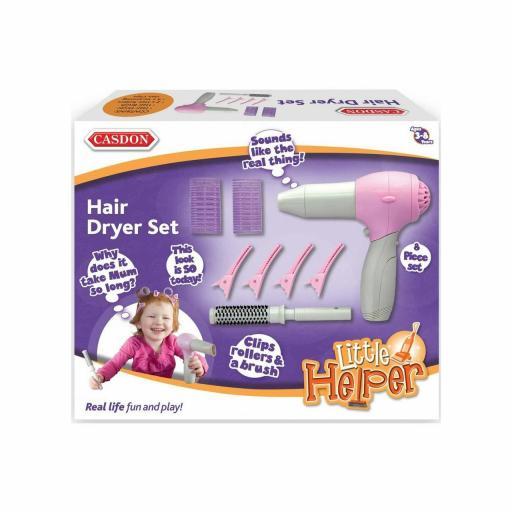 Casdon Little Helper Hair Dryer Kit