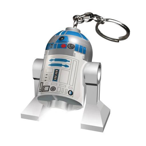 Lego R2-D2 Star Wars Key Light Keyring
