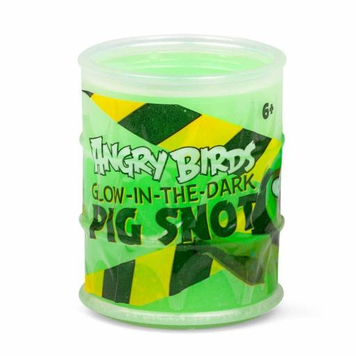 Angry Birds Glow In The Dark Pig Snot