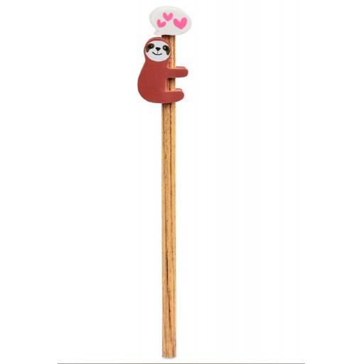 Tobar Sloth Pencil & Eraser