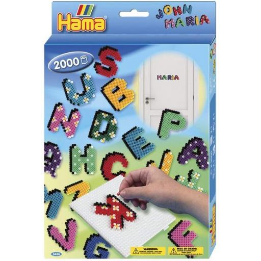 Hama ABC Alphabet Letters Bead Set