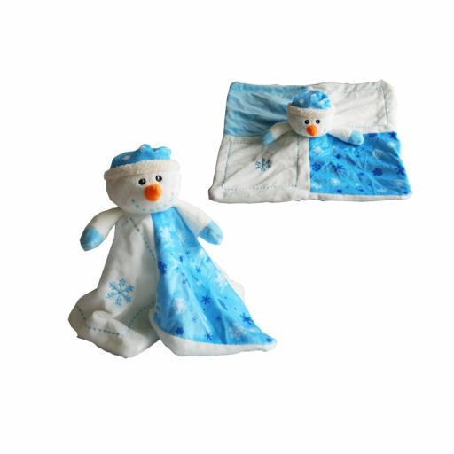 A to Z Snowman Comfort Blanket