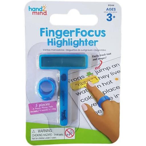 Learning Resources Fingerfocus Highlighters Small Set