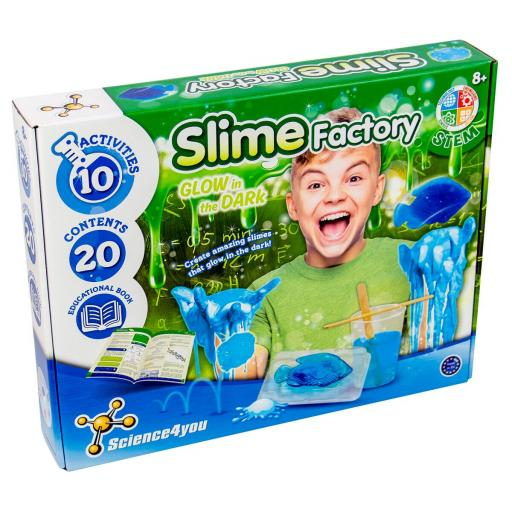 Science4you Slime Factory Glow in the Dark Set
