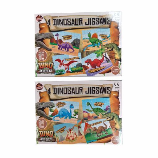A to Z 4 Dinosaurs Jigsaw 54pcs (2 ASSTD)
