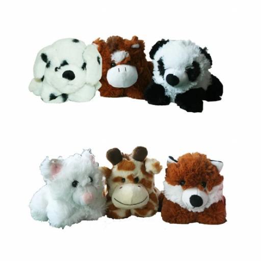 A to Z Soft Animal Toy (6 ASST)