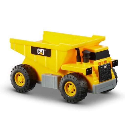 CAT Lights & Sounds Power Mini Crew Dump Truck