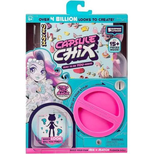Capsule Chix Surprise Fashion Doll - Ctrl + Alt + Magic