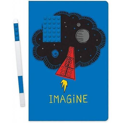 Lego Notebook with Imagine Pen