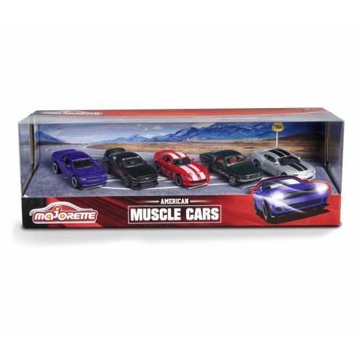 Majorette Muscle Cars 5 Pack
