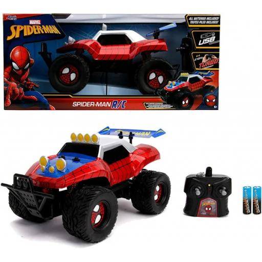 Jada Marvel RC Spiderman Buggy Vehicles (1:14)