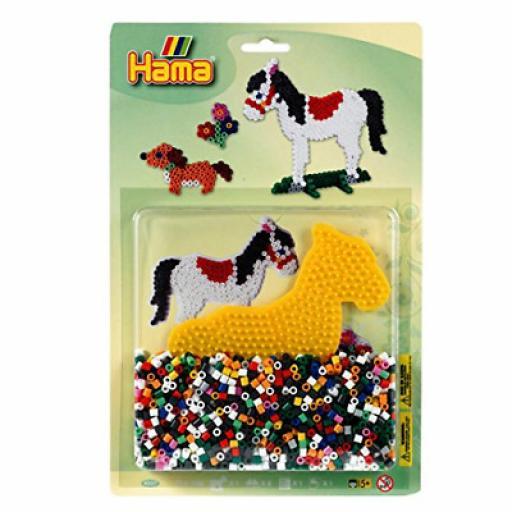 Hama Midi Horse & Dog Blister Activity Kit