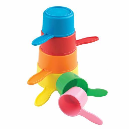 Casdon Little Ones Pan Pile Up Plastic Toy