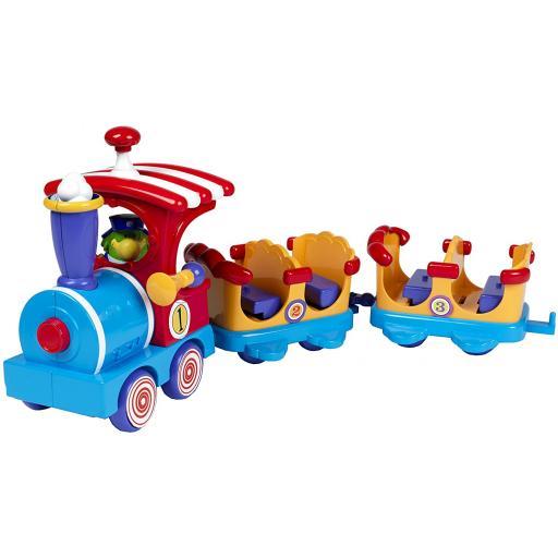 John Adams Pip Ahoy Mr Morris' Bubble Train Playset