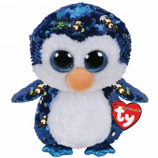 Ty Flippable Payton the Penguin