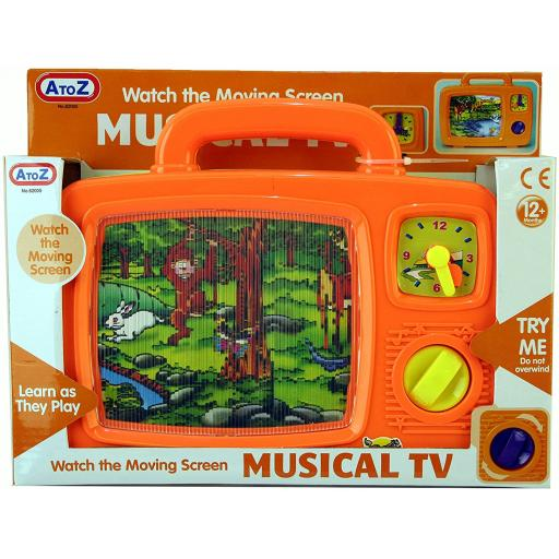 A to Z Musical TV Toy