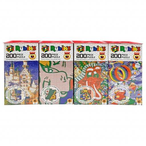 200 Piece Rubik's Puzzles