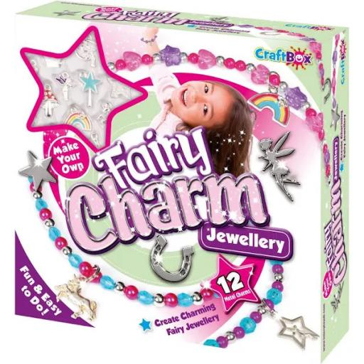 Craft Box Make Your Own Fairy Charm Jewellery Set