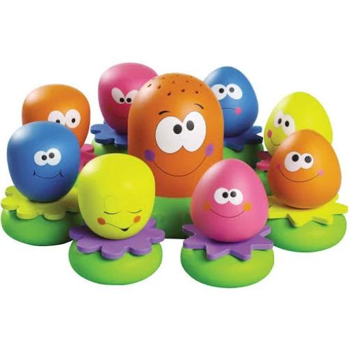 Tomy Octopals Number Sorting Baby Bath Toy