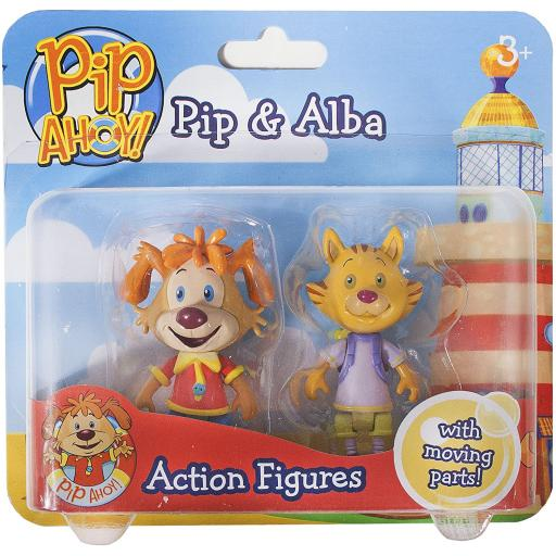 Pip Ahoy! Pip and Alba Action Figures