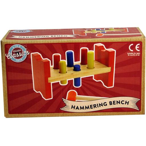 A to Z Wooden Hammering Bench