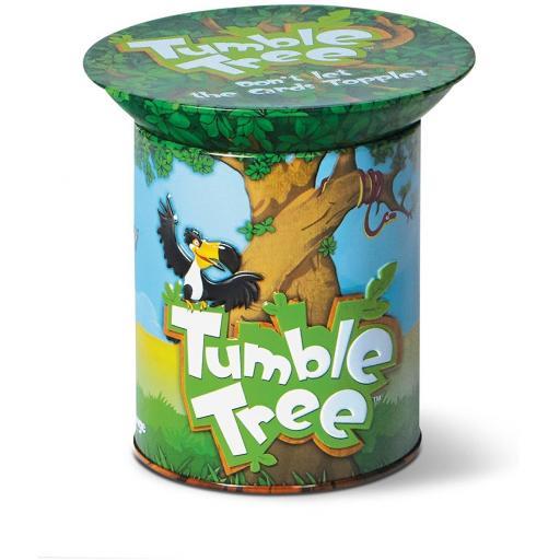 Blue Orange Tumble Tree Game