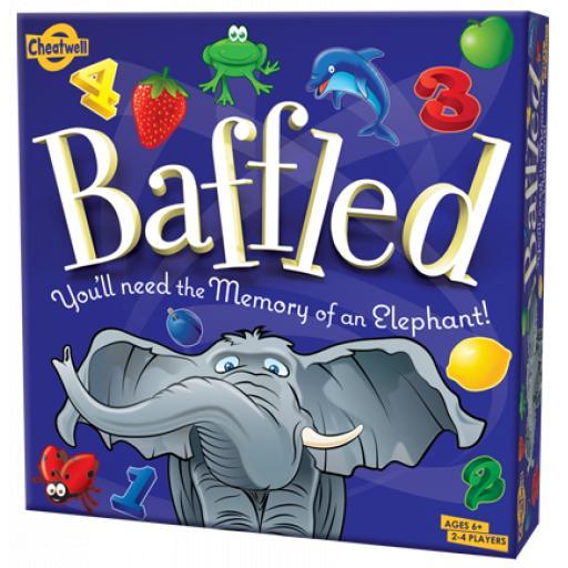 Cheatwell 'Baffled' Family Memory Board Game