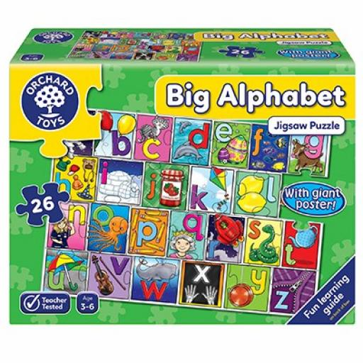 Orchard Toys Big Alphabet Jigsaw Puzzle And Poster