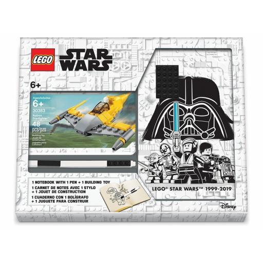 Lego Star Wars Naboo Starfighter Notebook & Pen