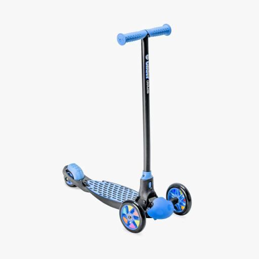 Yvolution Y Glider Deluxe Kids Scooter Blue