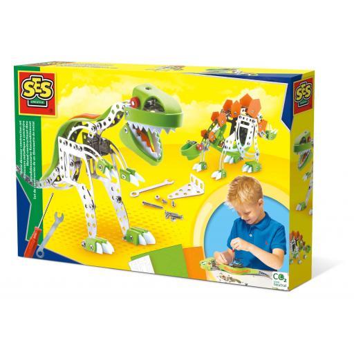 SES Creative Metal Dinosaur Construction Set