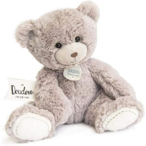 Doudou et Compagnie Unicef Soft Toy Teddy Bear Taupe
