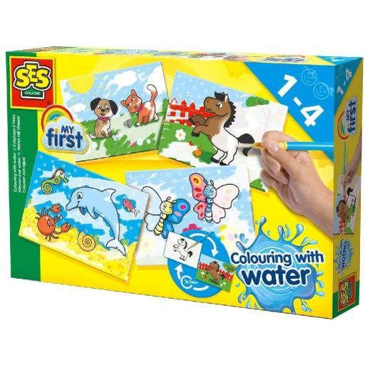 SES Creative Colouring With Water – Fantasy Animals