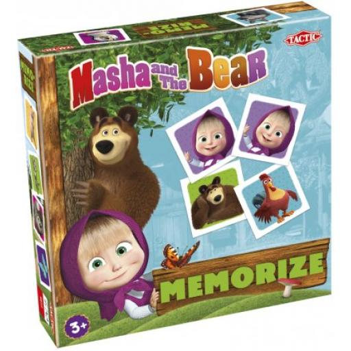 Tactic Masha and The Bear Memorise Card Game