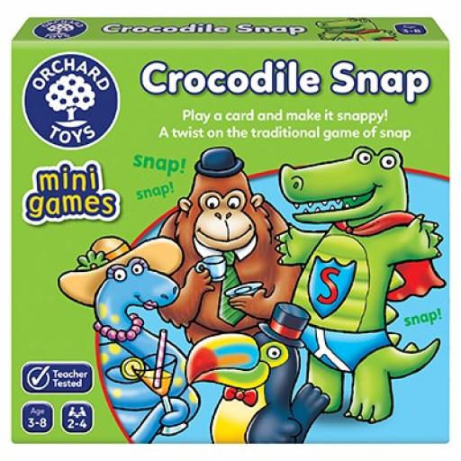 Orchard Toys Crocodile Snap Game