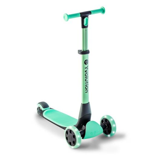 Yvolution Y Glider Nua Kids Scooter - Teal