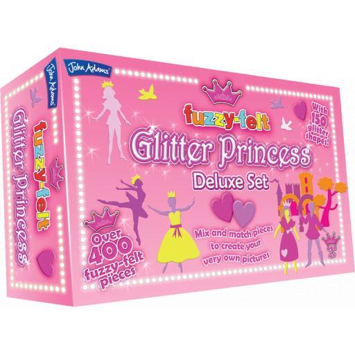 John Adams Fuzzy Felt Glitter Princess Deluxe Set